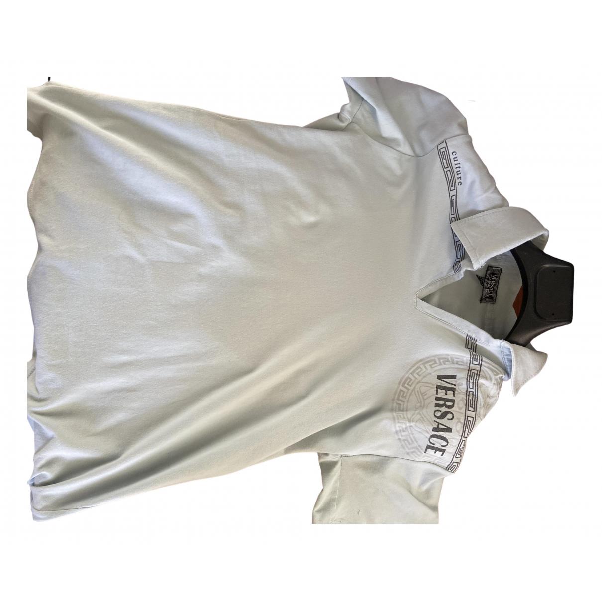 Versace \N Poloshirts in  Tuerkis Baumwolle