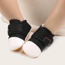 Baby Boy Velcro Strap Sneakers