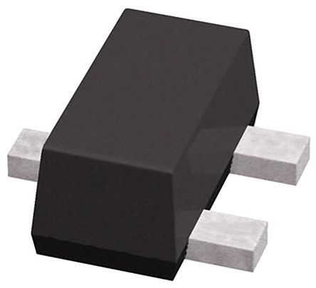 ROHM , DTC014EUBTL NPN Digital Transistor, 100 mA 50 V 10 kΩ, Ratio Of 1, Single, 3-Pin SOT-323F (200)