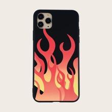 Funda de iphone con fuego
