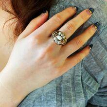 Vintage Ring mit Stein Dekor