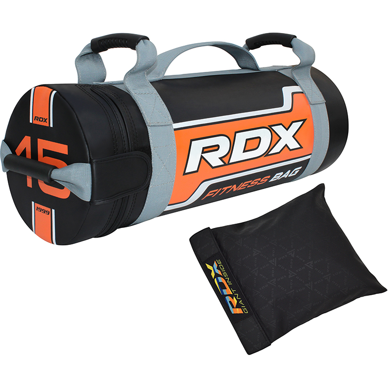 RDX FB Sac de Sable de Musculation  15KG Orange Nylon