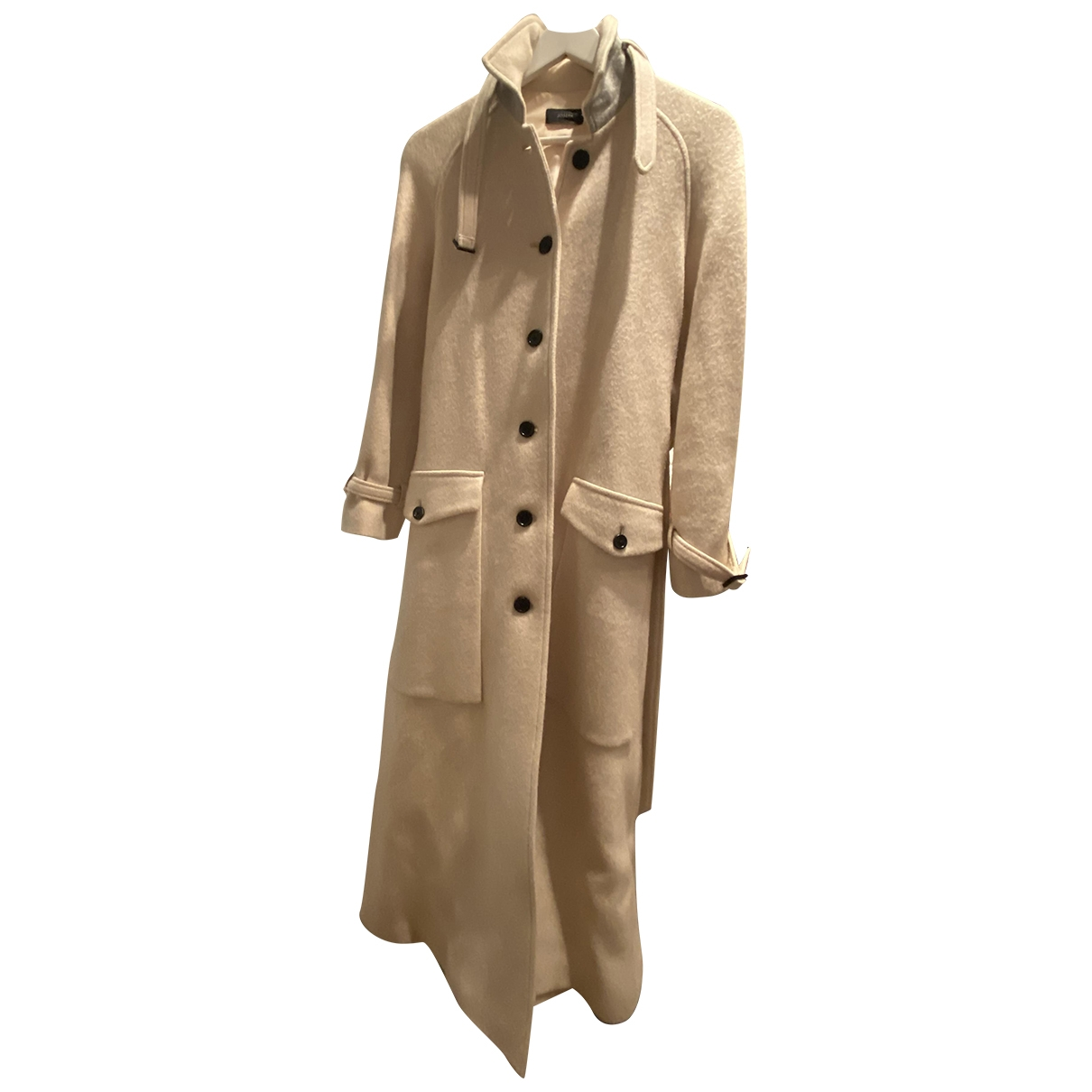 Joseph \N Ecru Wool coat for Women M International