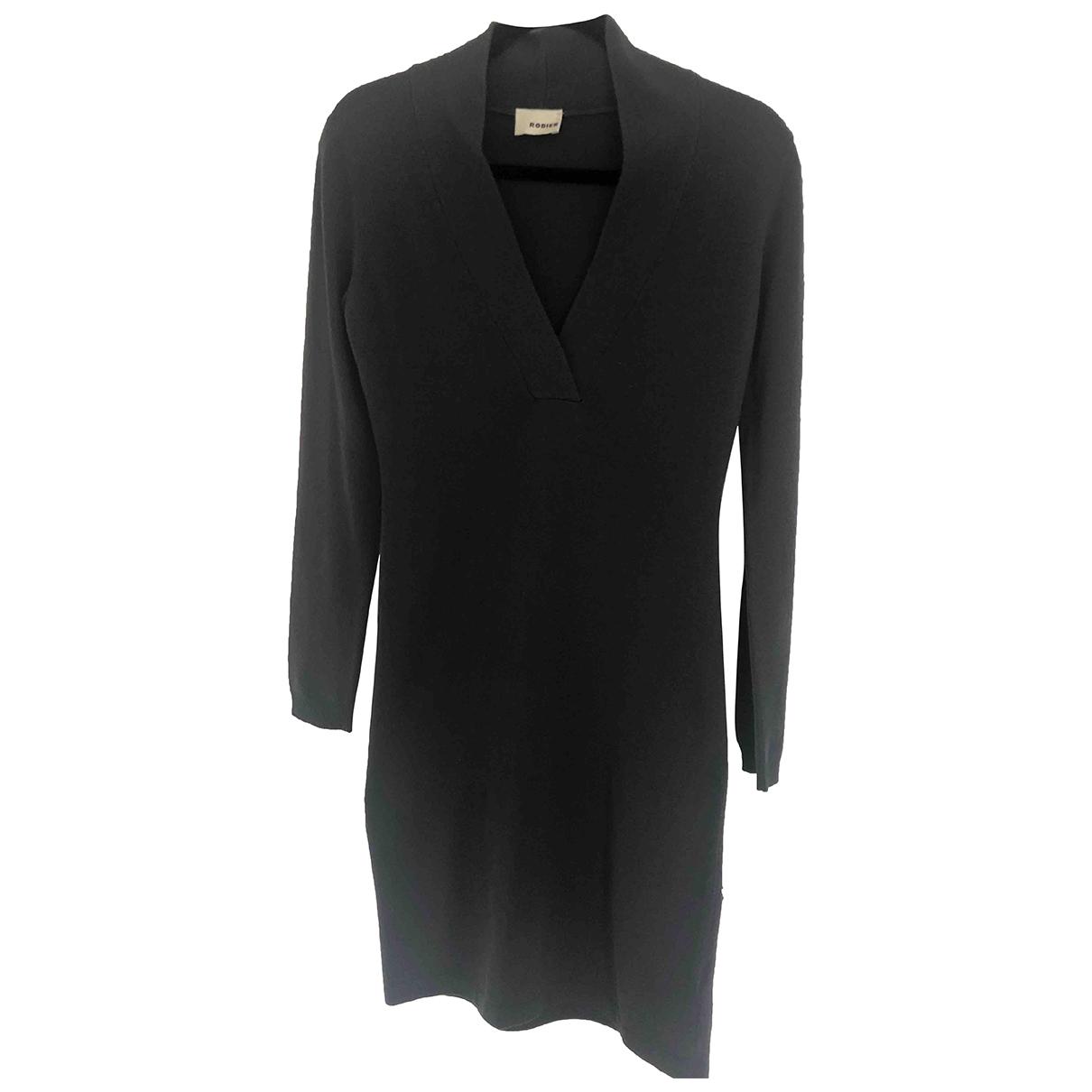 Rodier \N Grey Wool dress for Women 36 FR