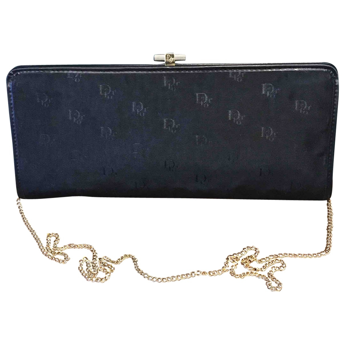 Christian Dior \N Navy Cloth Clutch bag for Women \N