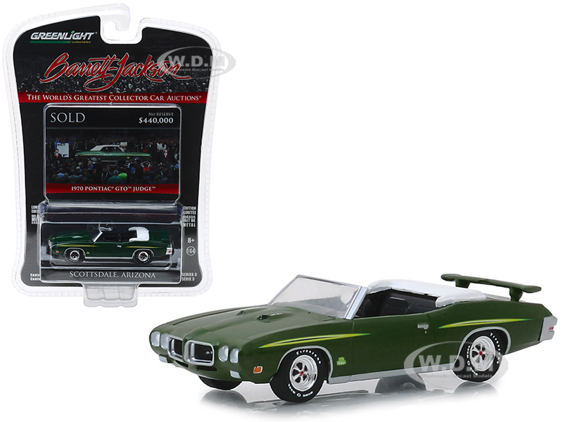1970 Pontiac GTO Judge Convertible (Lot 1412) Green