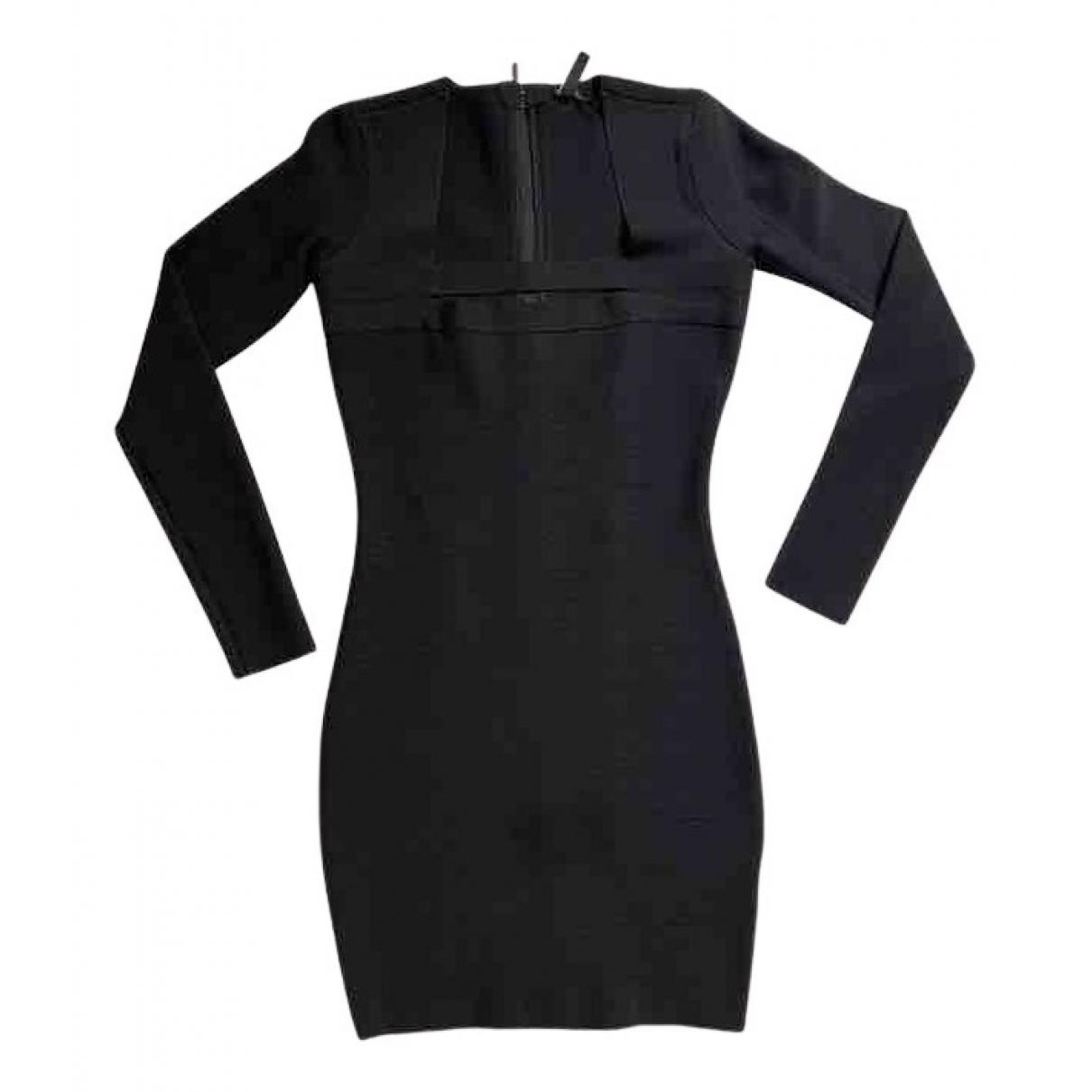 Guess \N Kleid in  Schwarz Viskose