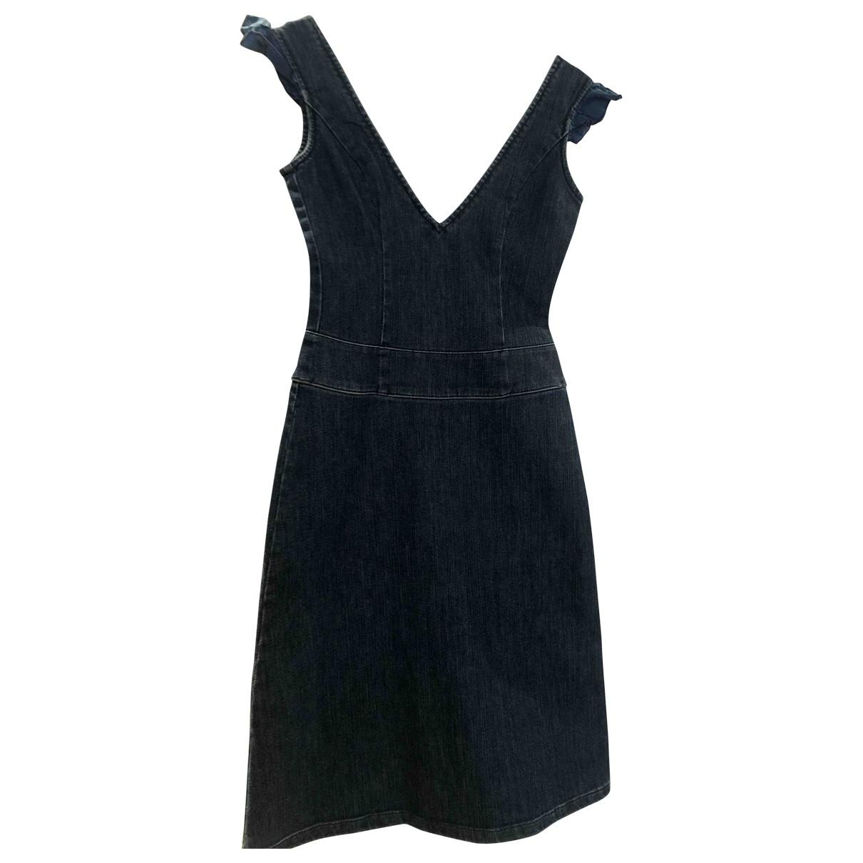 Versace Jeans \N Kleid in  Blau Denim - Jeans