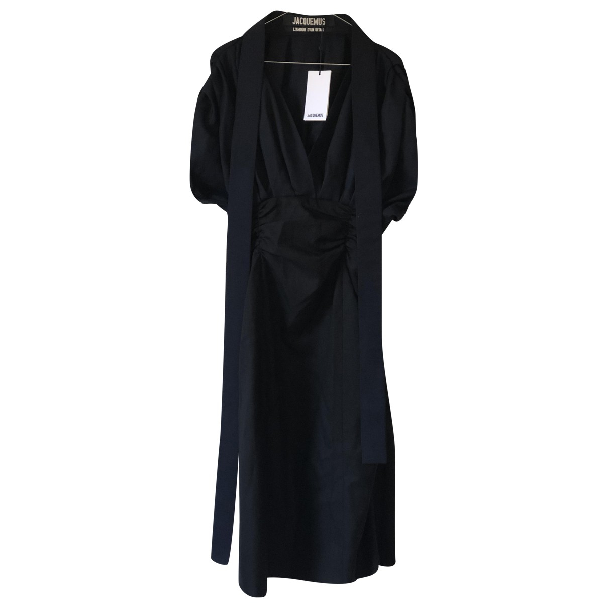 Jacquemus LAmour dun Gitan Kleid in  Schwarz Wolle