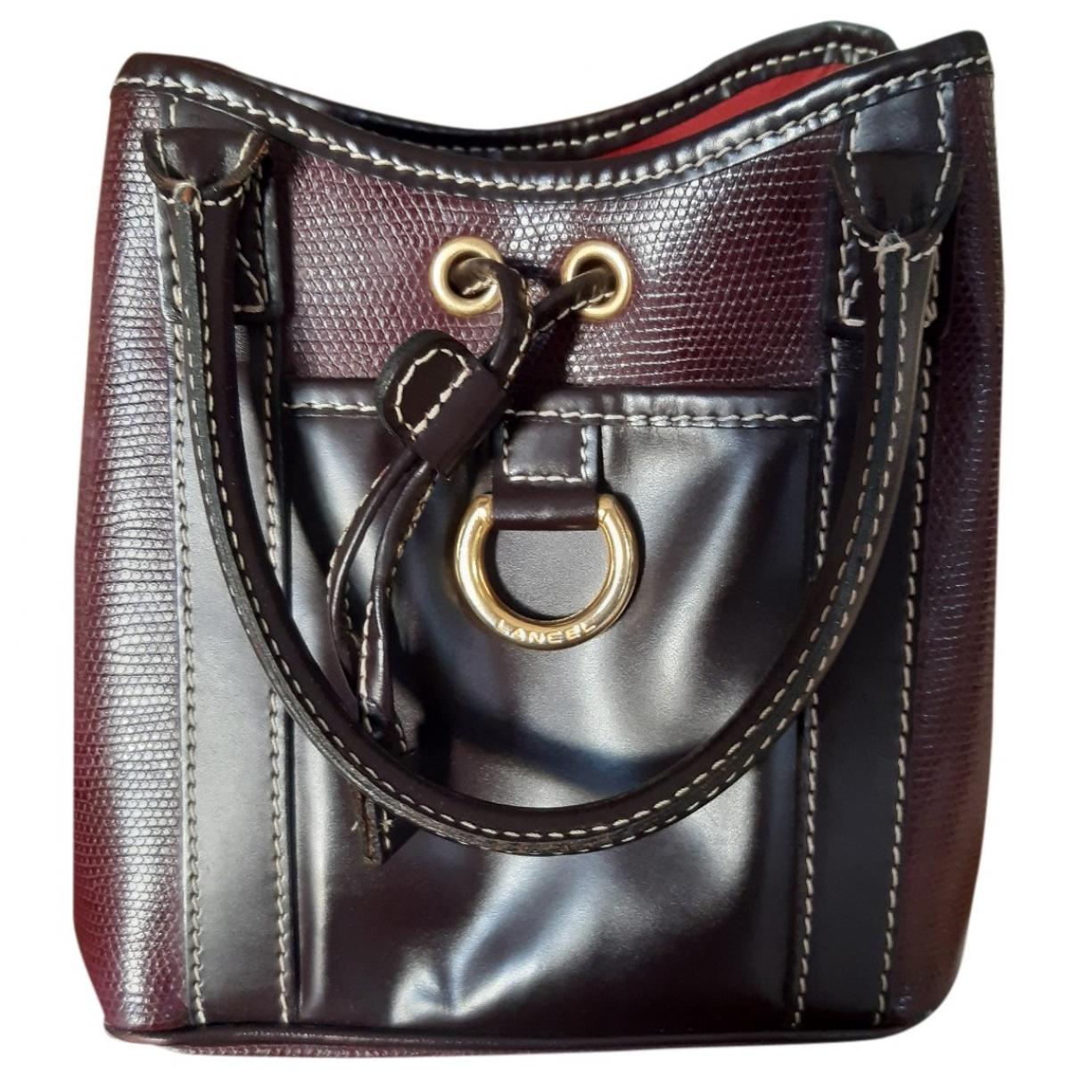 Lancel \N Purple Leather handbag for Women \N