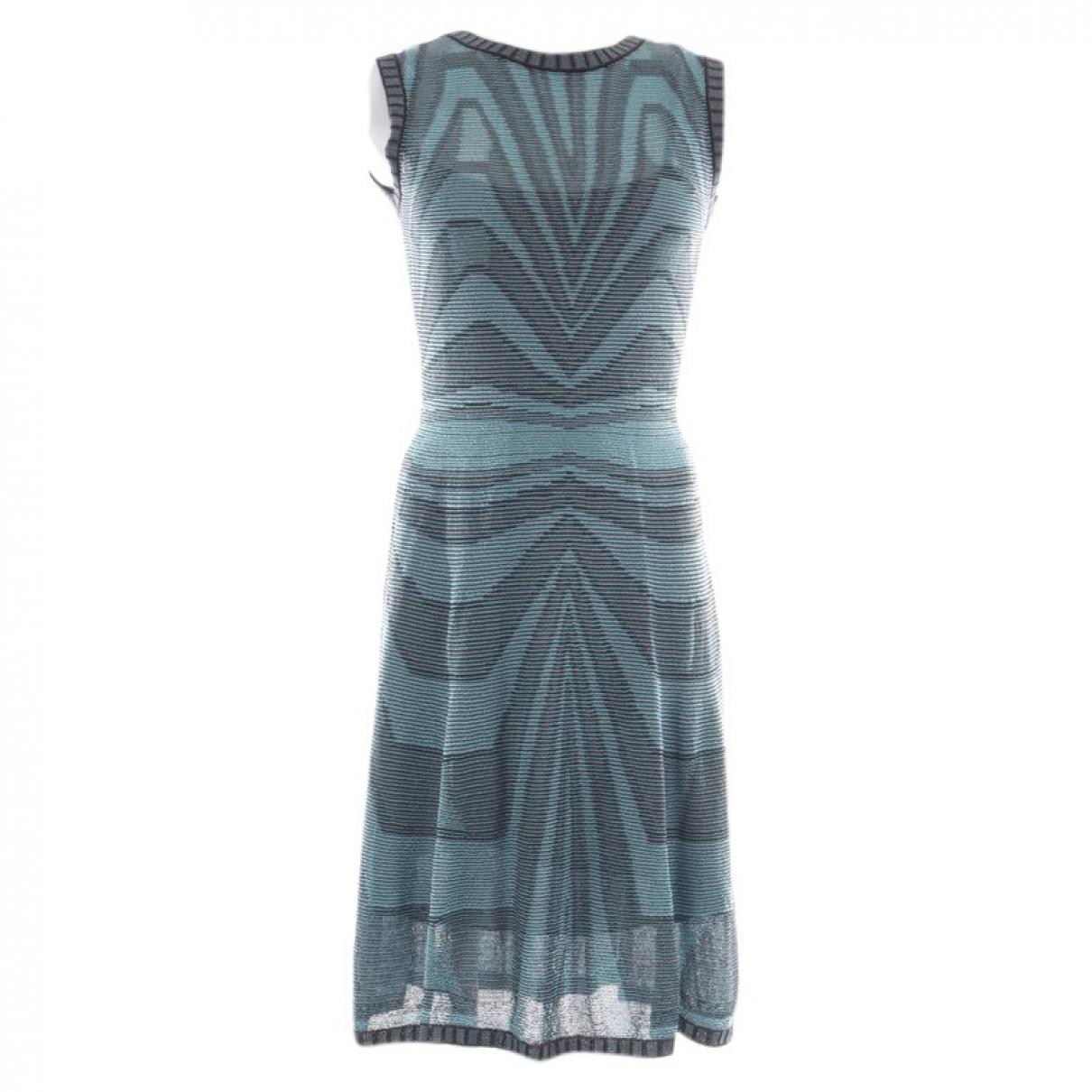 M Missoni \N Kleid in  Blau Baumwolle