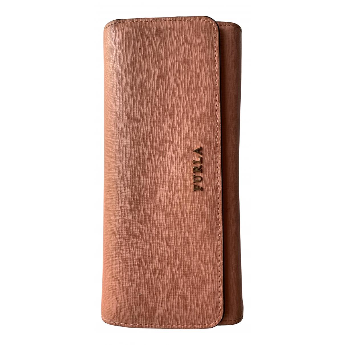 Furla N Orange Patent leather wallet for Women N