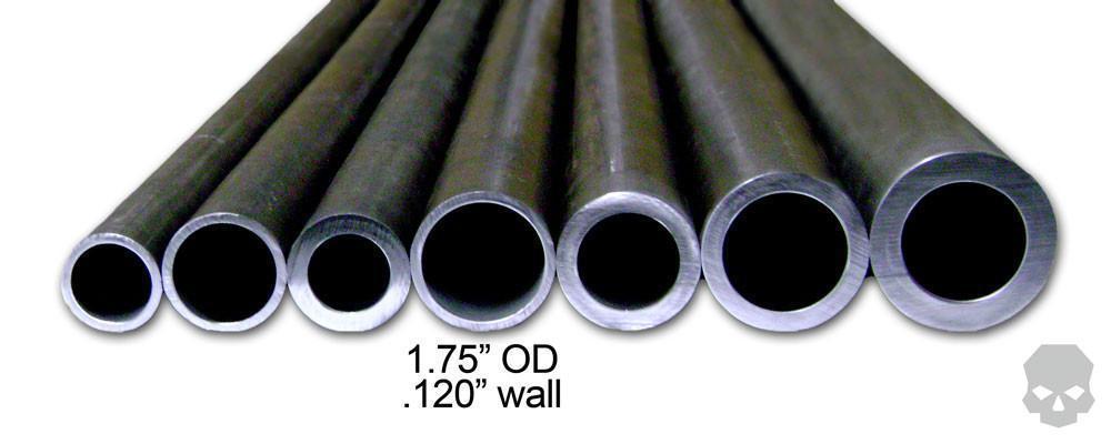 DOM Tubing 1.50 Inch ID 1.75 Inch OD .120 Inch Wall 5 Feet Ballistic Fabrication DOM-403-5