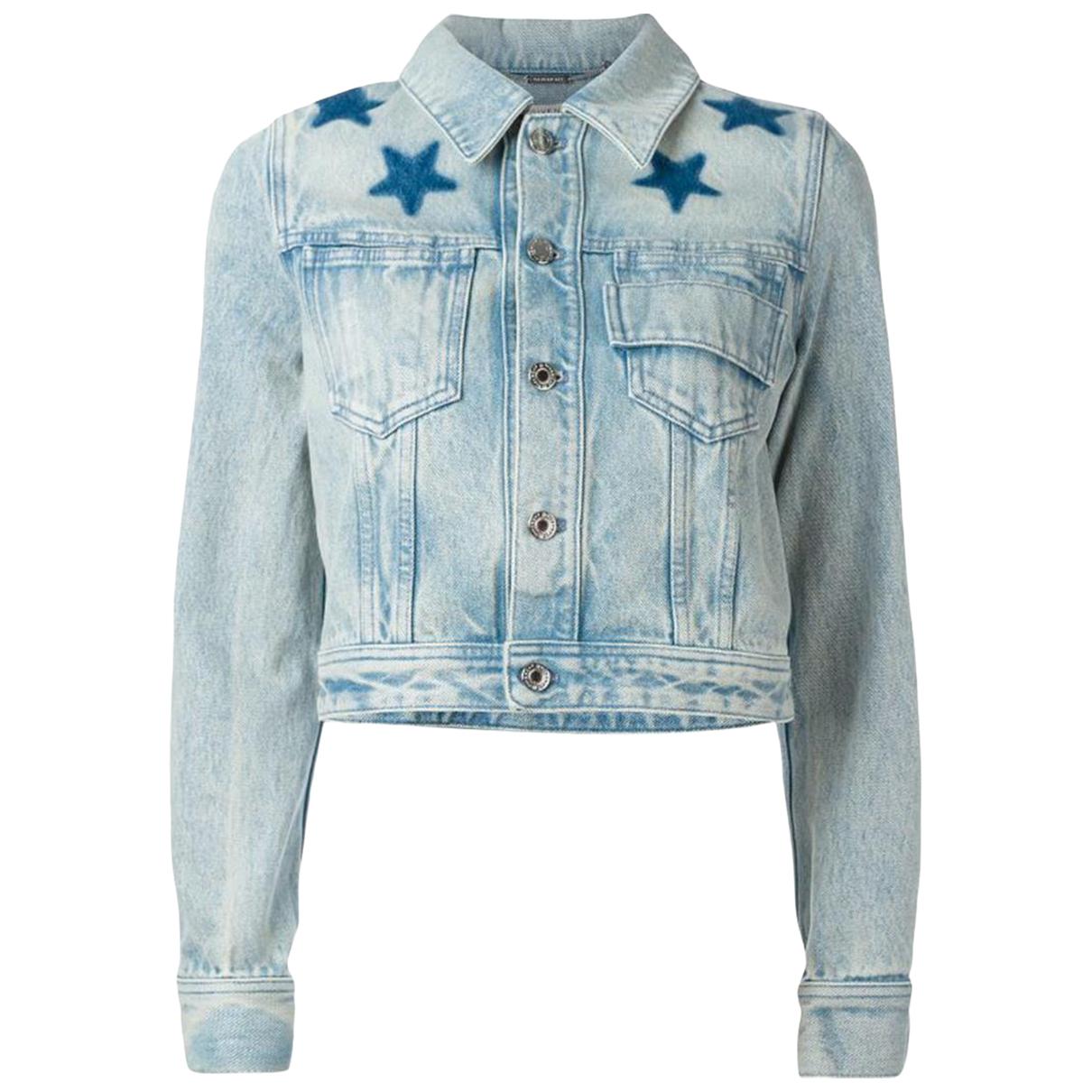Givenchy - Veste   pour femme en denim - bleu