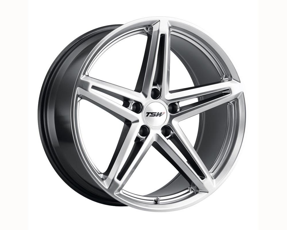 TSW Molteno Wheel 20x10 5x114.30 25 Hyper Silver