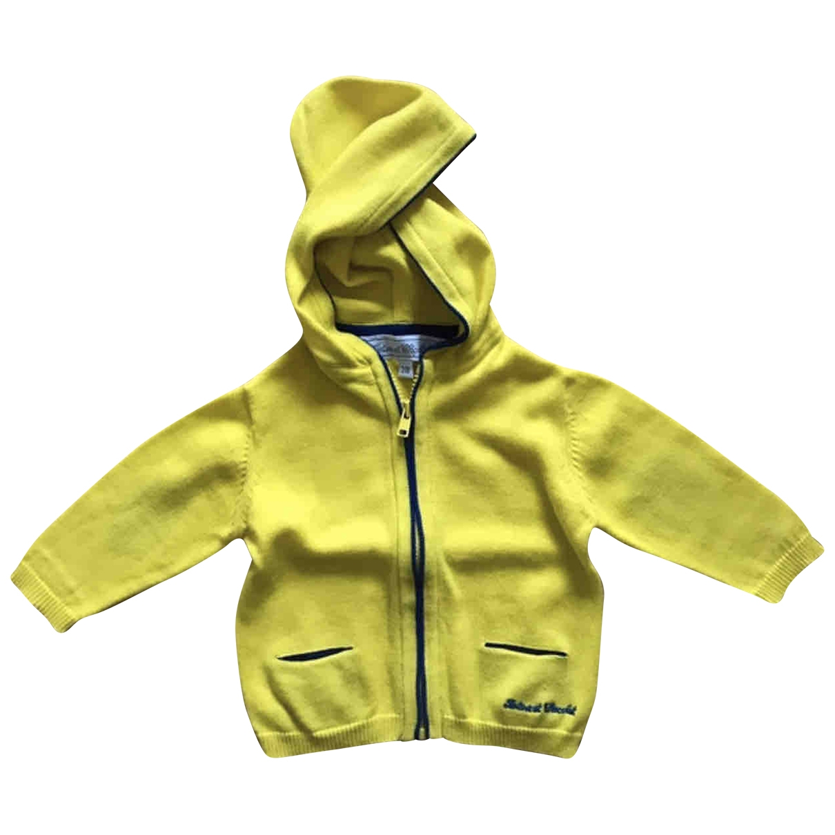 Tartine Et Chocolat \N Yellow Cotton Knitwear for Kids 3 months - up to 60cm FR