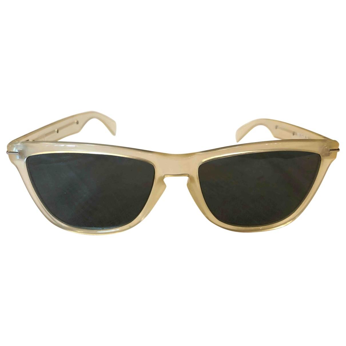 Gianni Versace - Lunettes   pour femme - beige