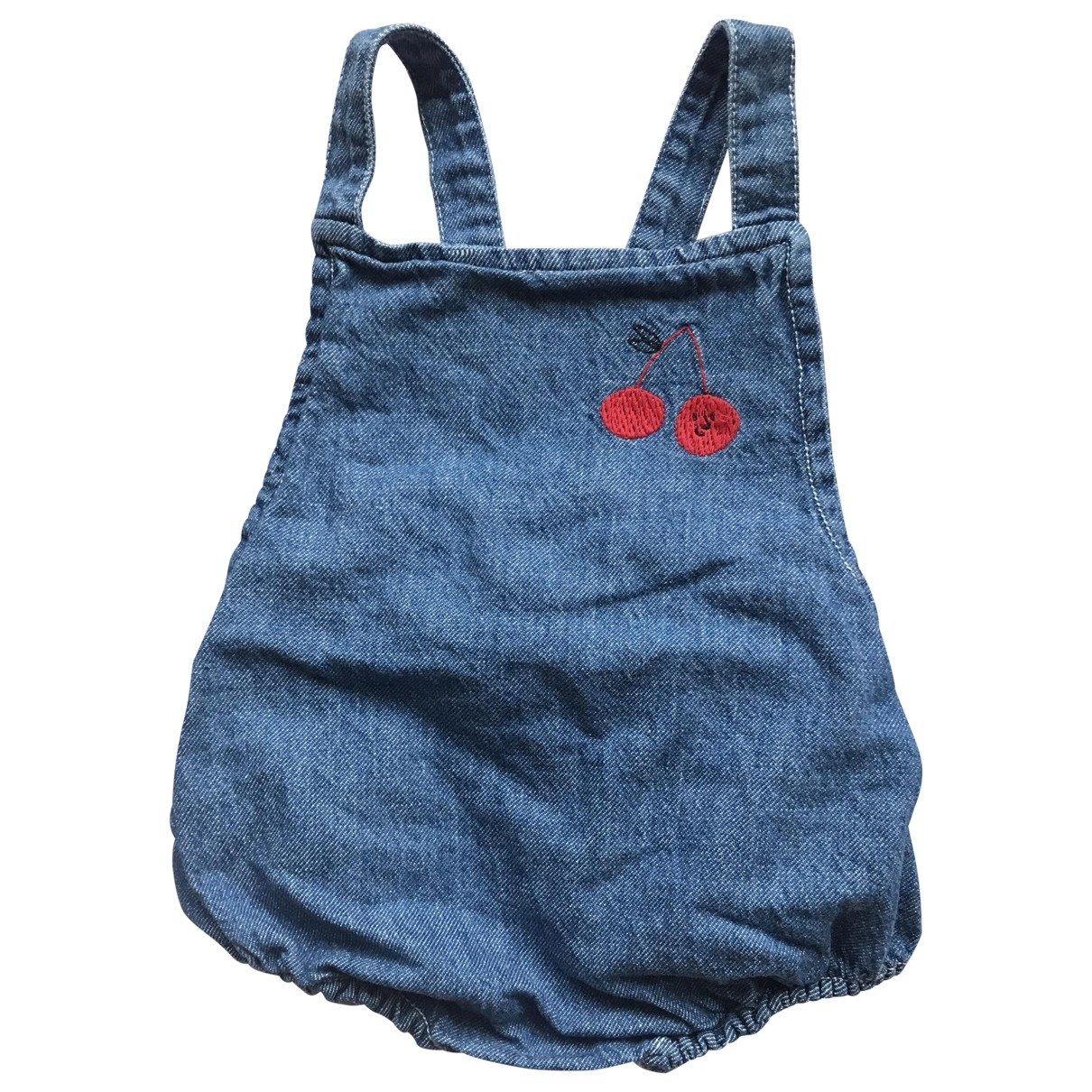 Bobo Choses - Pantalon   pour enfant en denim - bleu