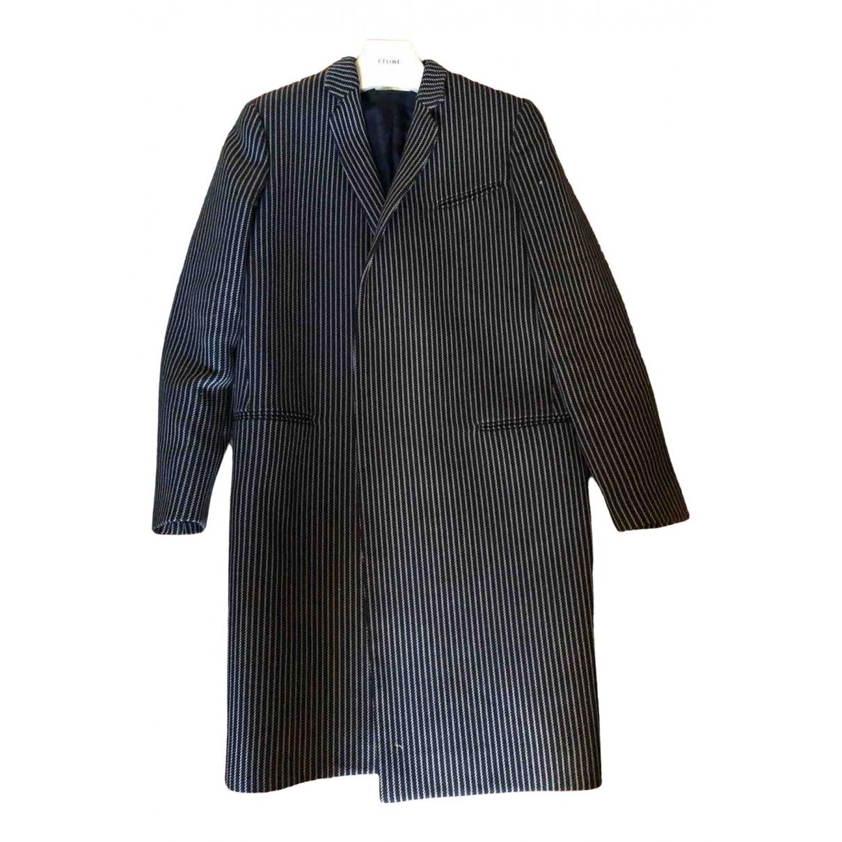 Celine - Manteau   pour femme en coton - marine