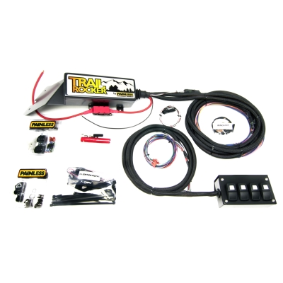 Painless Wiring Trail Rocker Overhead Accessory Control System (4 Switch) - 57020