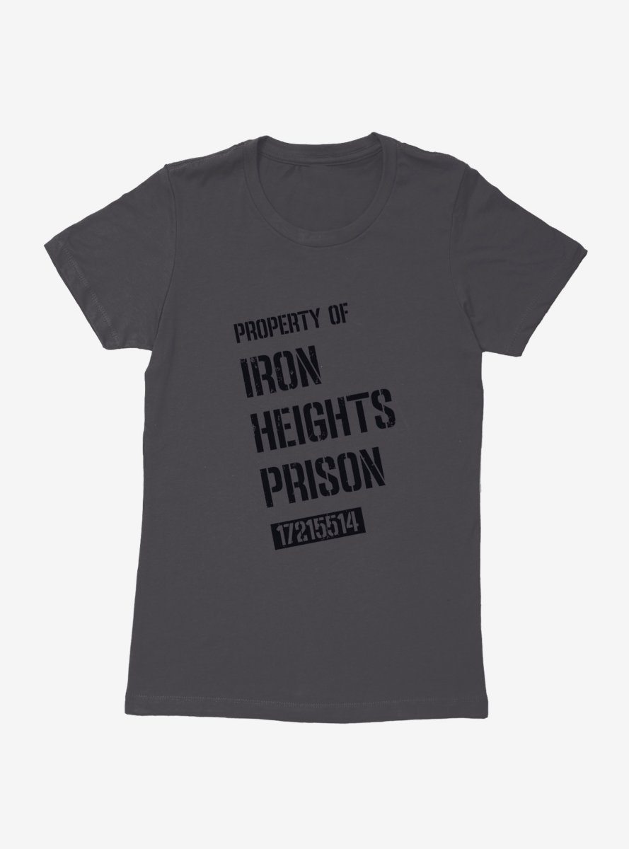 DC Comics Arrow Iron Heights Prison Womens T-Shirt