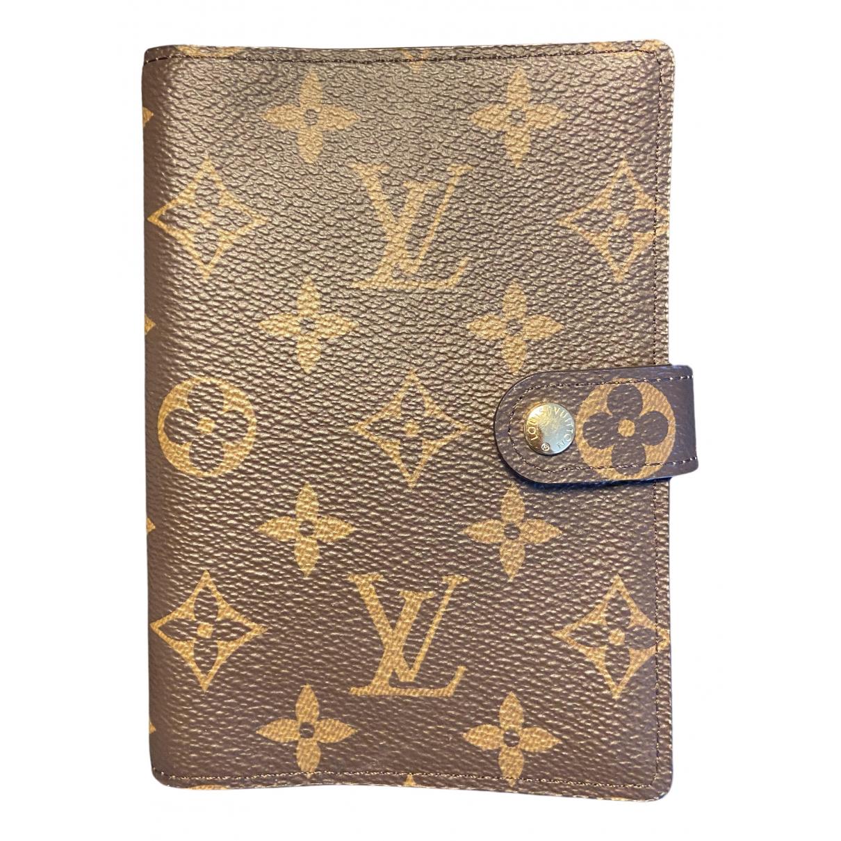 Agenda Couverture dagenda PM de Lona Louis Vuitton