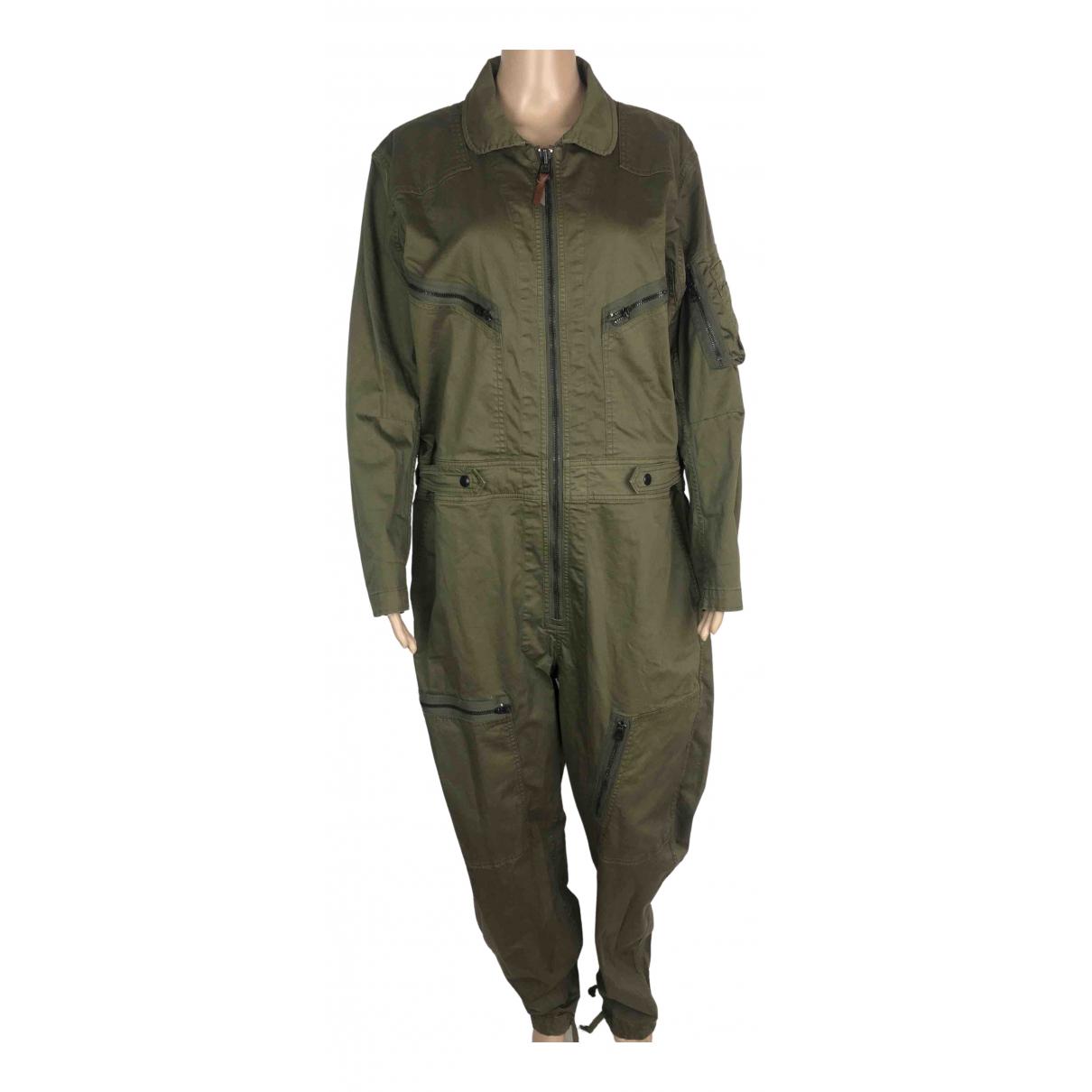 Ralph Lauren Double Rl \N Jumpsuit in  Gruen Baumwolle