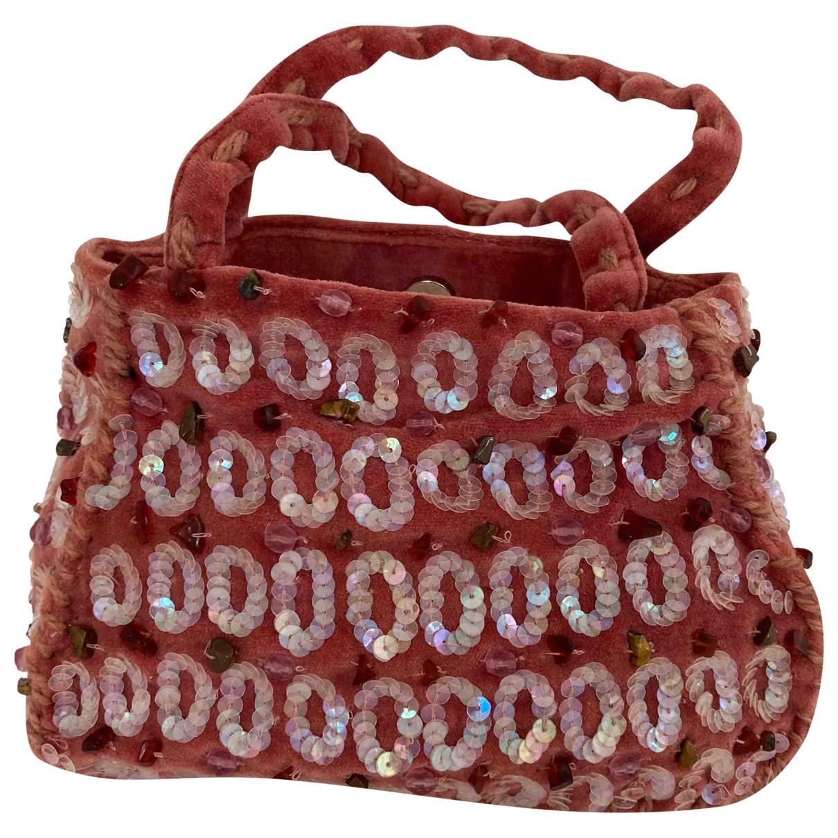 Maliparmi \N Handtasche in  Rosa Samt