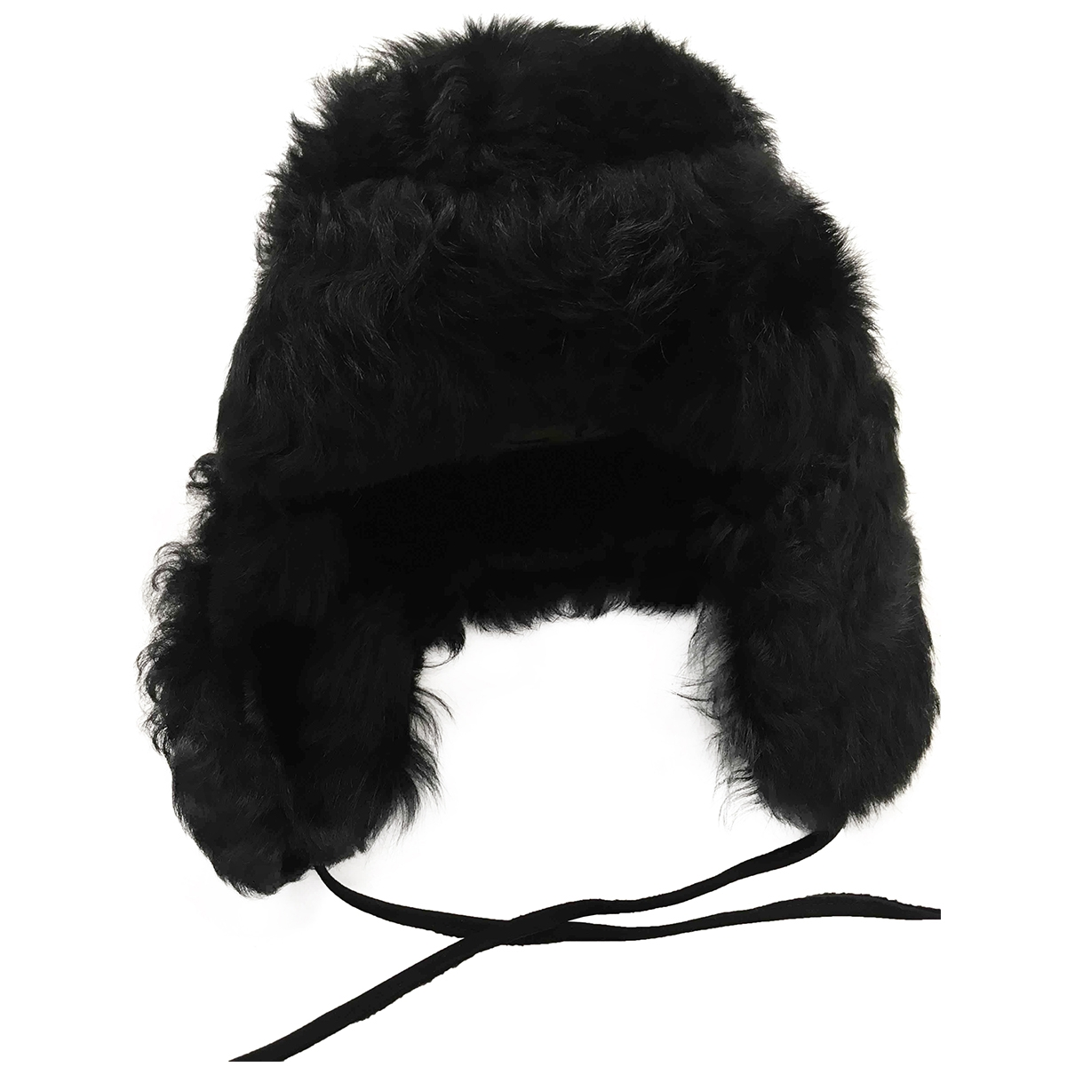 Paul Smith \N Black Leather hat & pull on hat for Men L International