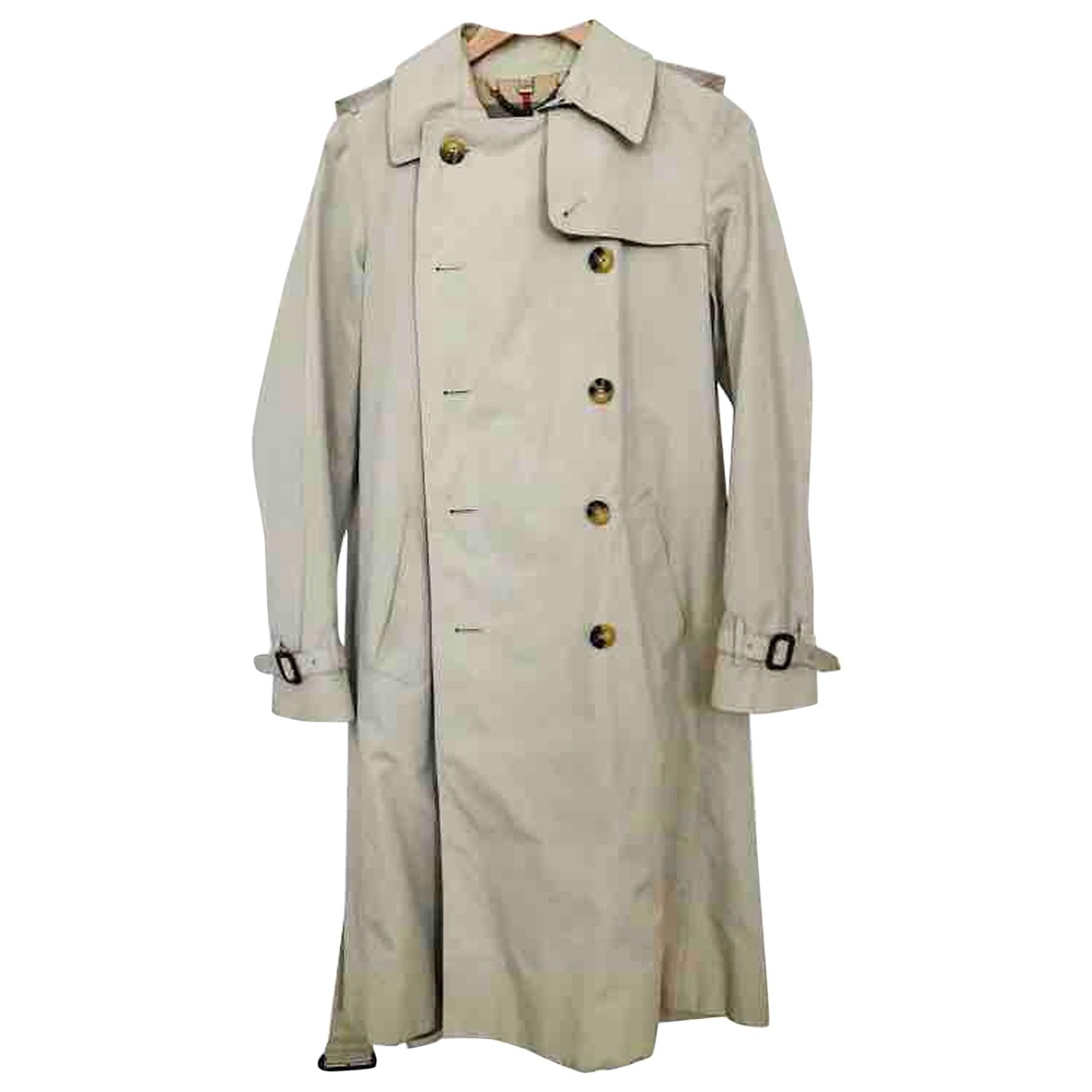 Burberry \N Beige Cotton Trench coat for Women 10 US