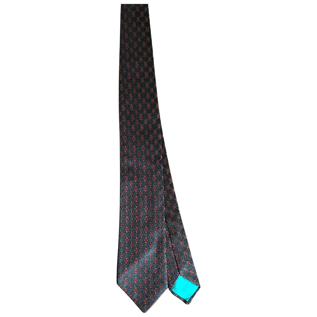 Dior \N Krawatten in  Gruen Seide