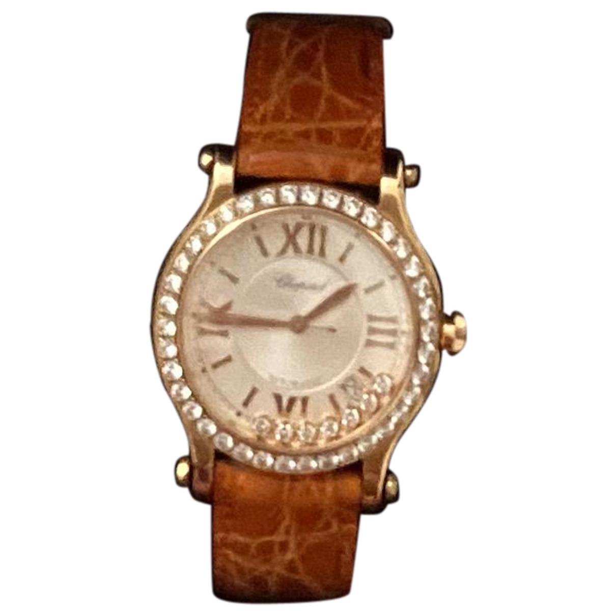 Chopard Happy Diamonds Uhr in  Gold Rosegold