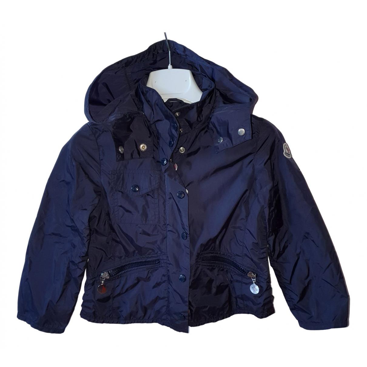 Moncler - Blousons.Manteaux   pour enfant - bleu
