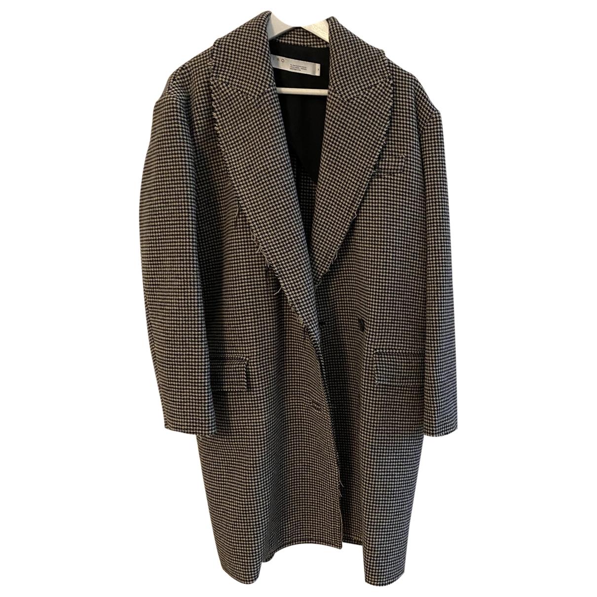 Iro - Manteau   pour femme en laine - multicolore