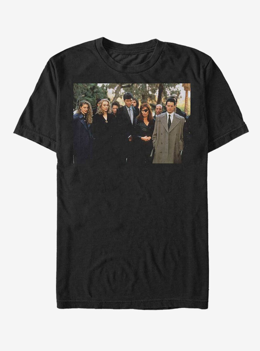 Twin Peaks Funeral Mourners T-Shirt
