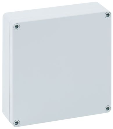 Spelsberg TK PS, Grey Polystyrene Enclosure, IP66, 182 x 180 x 63mm
