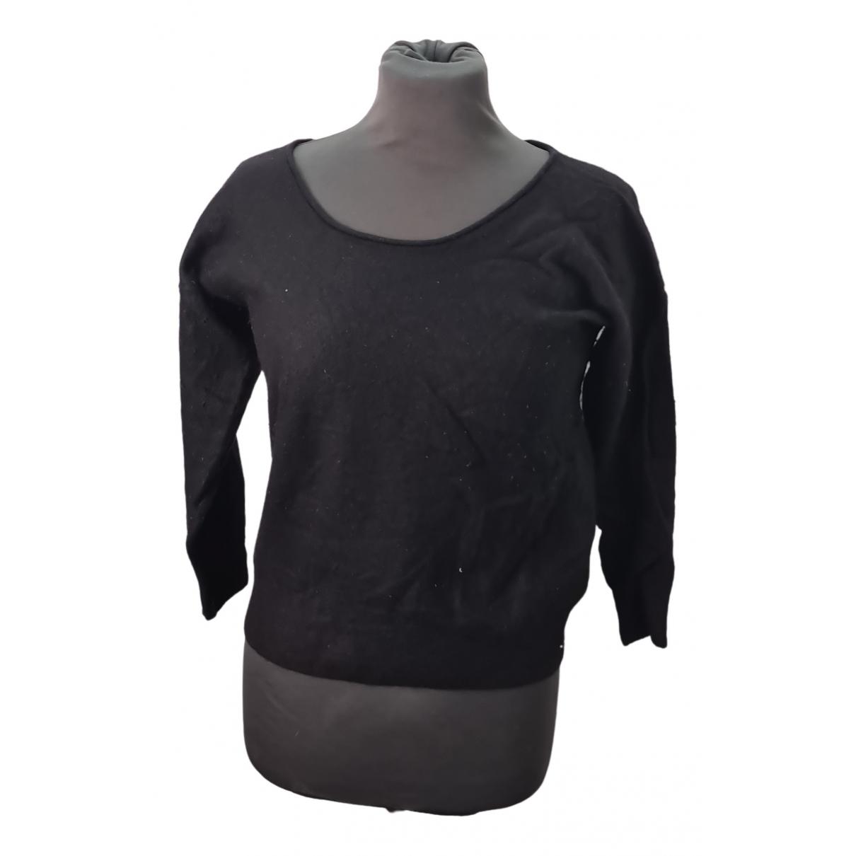 Massimo Dutti - Pull   pour femme en cachemire - noir
