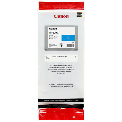 Canon PFI-320C 2891C001 Original Cyan Toner Cartridge