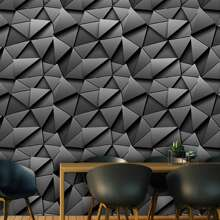 1pc 3D Geometric Pattern Wall Sticker