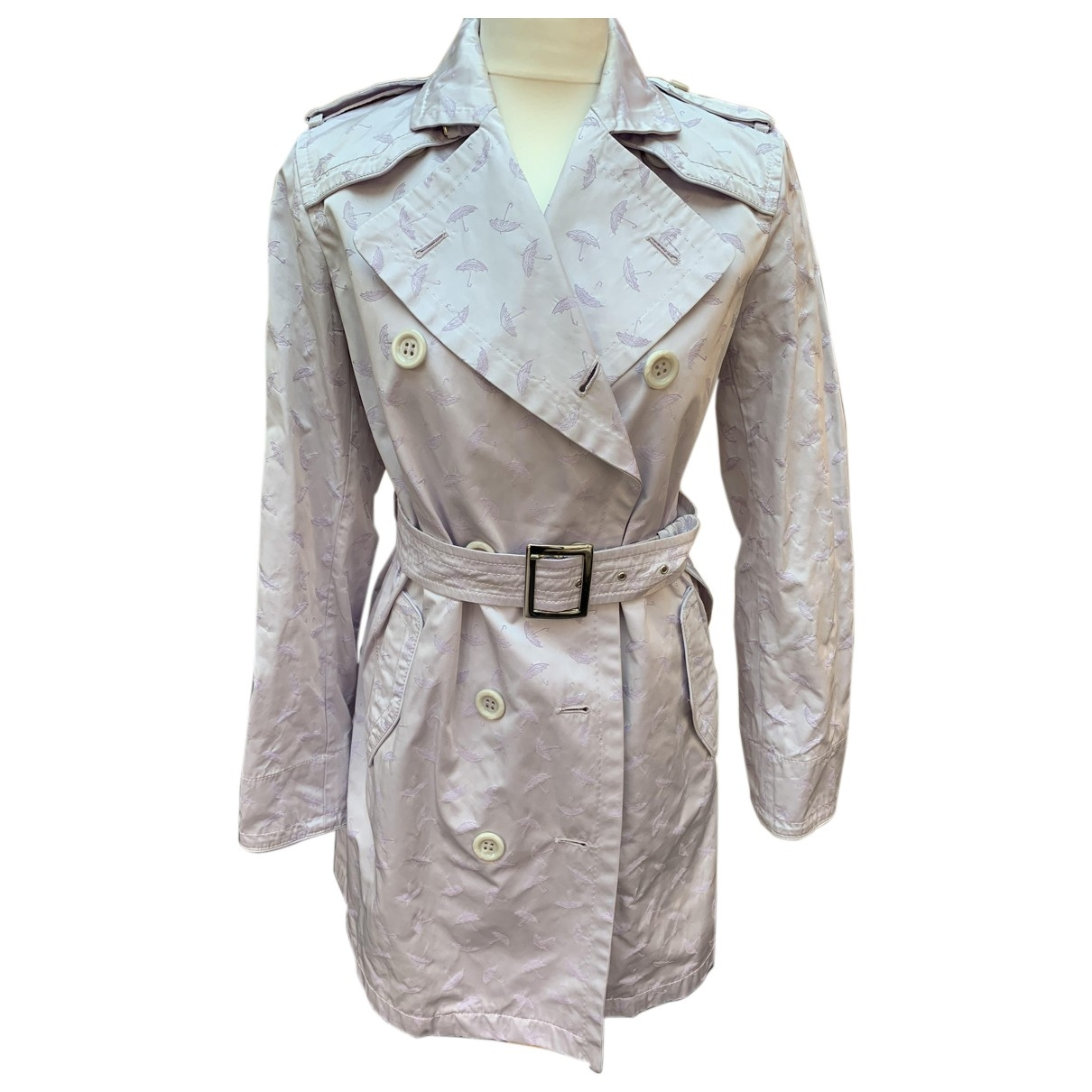 Allegri \N Trench in  Lila Polyester