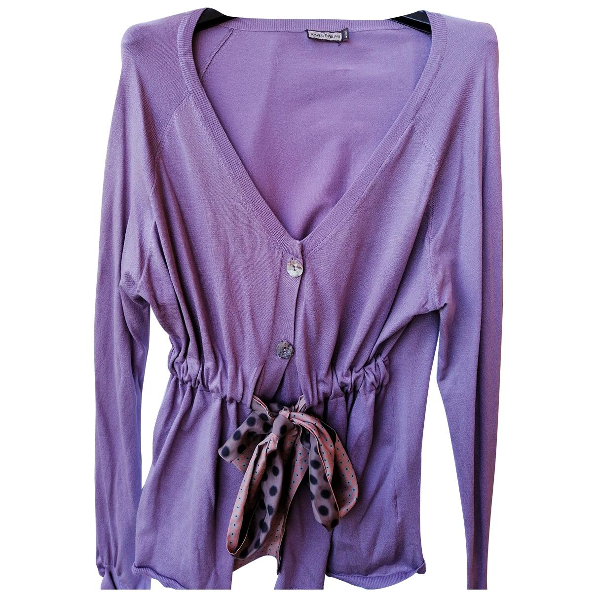 Maliparmi \N Purple Silk  top for Women L International