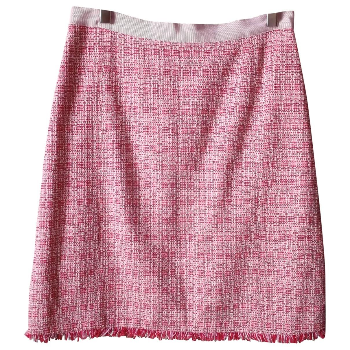 Max Mara Weekend \N Pink Cotton skirt for Women M