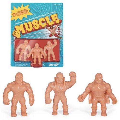 Legends of Lucha Libre M.U.S.C.L.E. Figures Pack B - Konnan, Solar, Super Astro