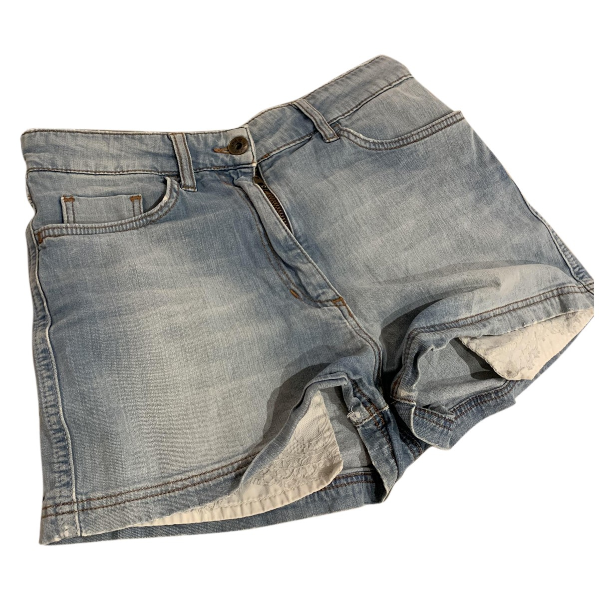 Sandro N Blue Denim - Jeans Shorts for Women 36 FR