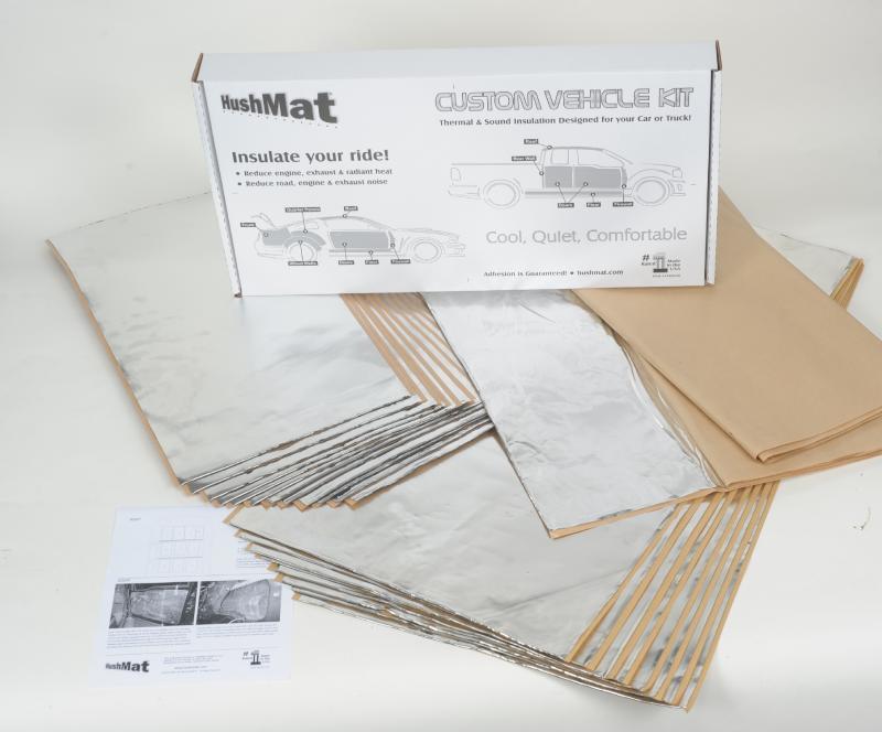 Hushmat 62182 Complete Vehicle Custom Insulation Kit