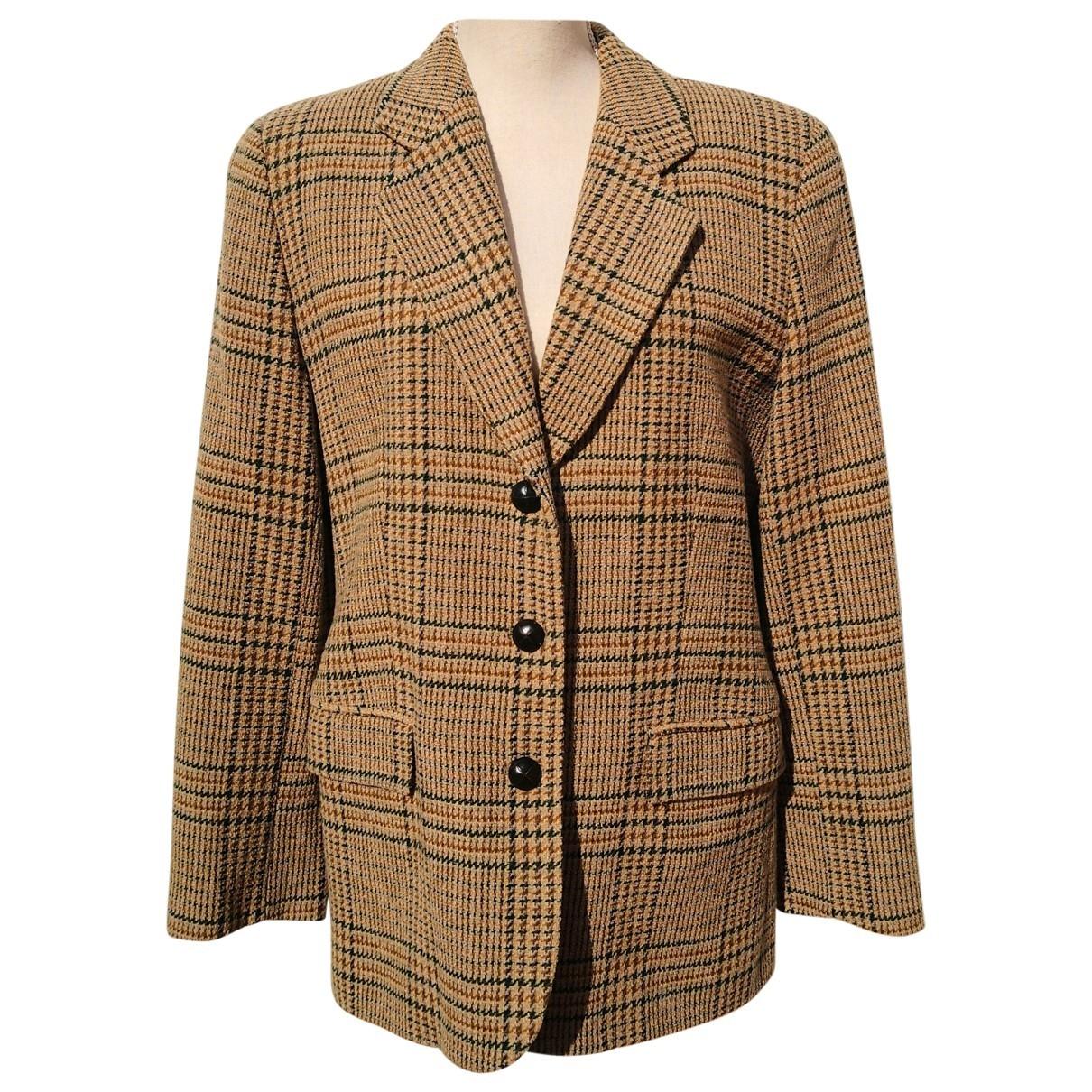 Burberry \N Multicolour Wool jacket for Women 42 FR