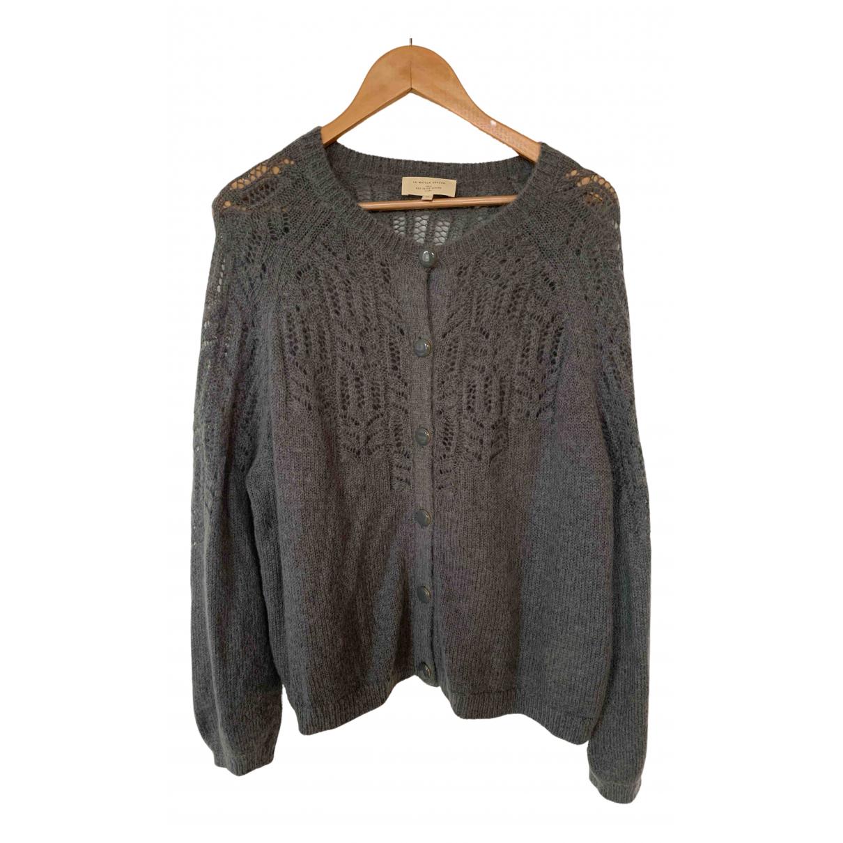 Sezane \N Pullover in  Grau Wolle