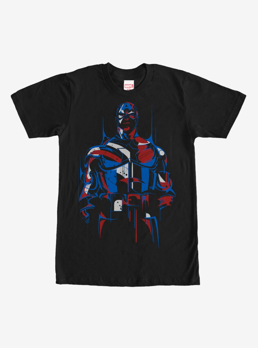 Marvel Captain America Modern T-Shirt