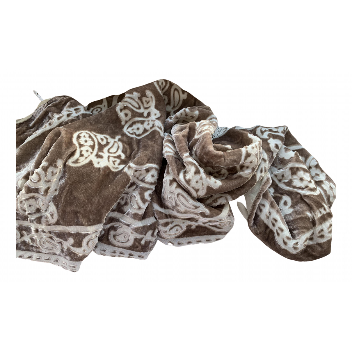 Max Mara N Beige Silk scarf for Women N