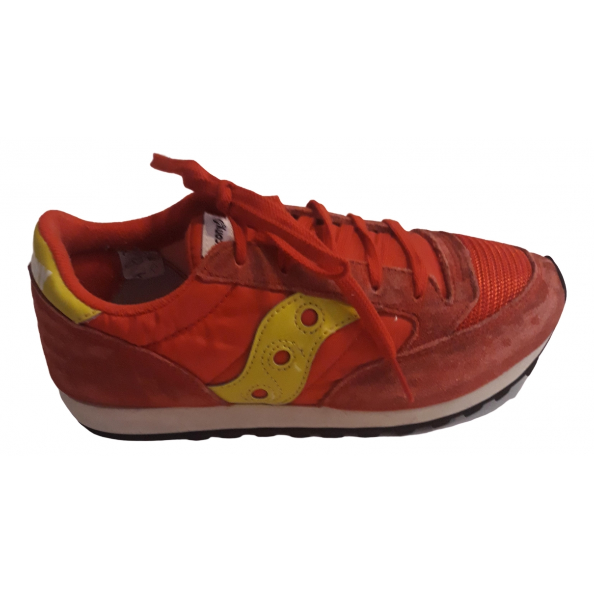 Saucony \N Red Cloth Trainers for Kids 3.5 US